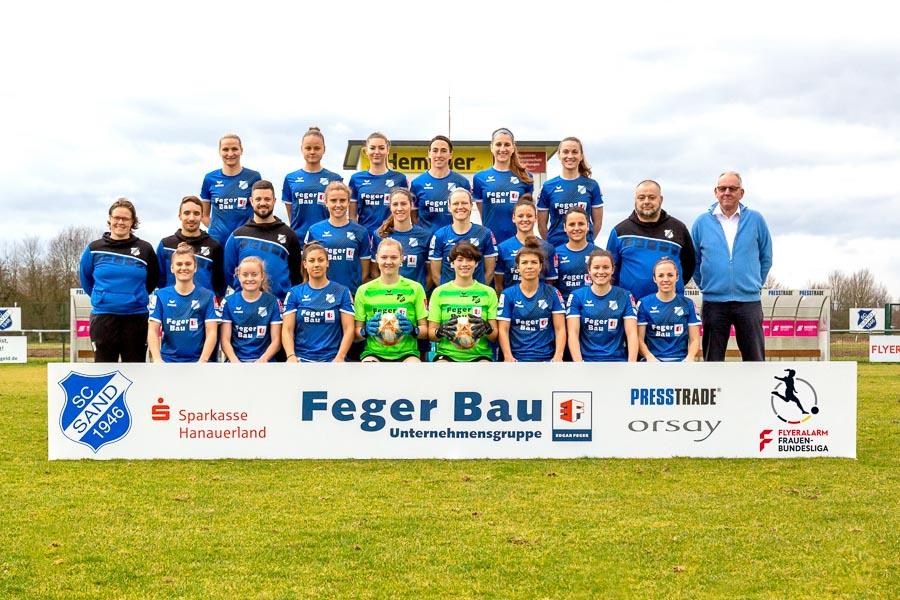Sportclub Sand, SC, Sand, 1. Frauen-Bundesliga